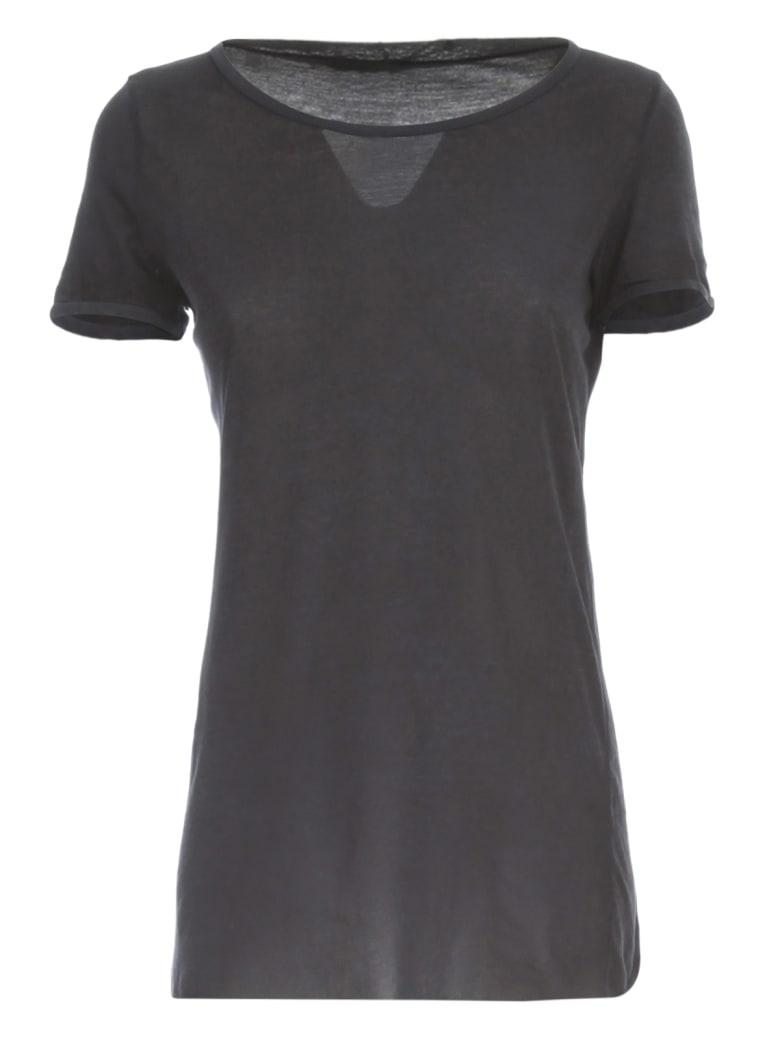 Avant Toi Round Neck Cotton Tshirt - Blu Navy