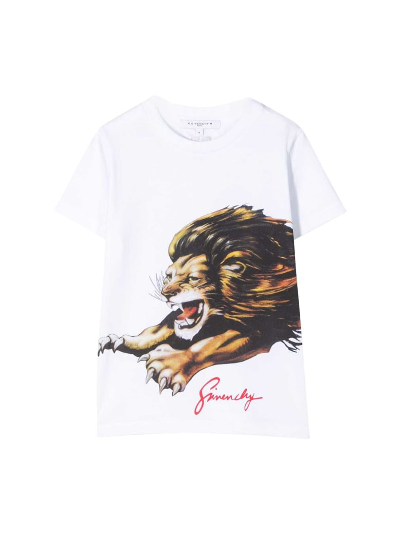 Givenchy Kids Printed T-shirt - Bianco