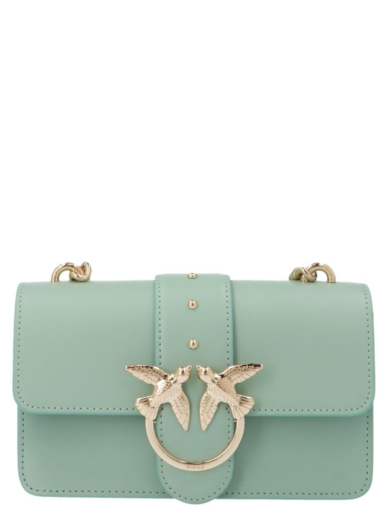 Pinko 'love Mini Simply' Bag - Light blue