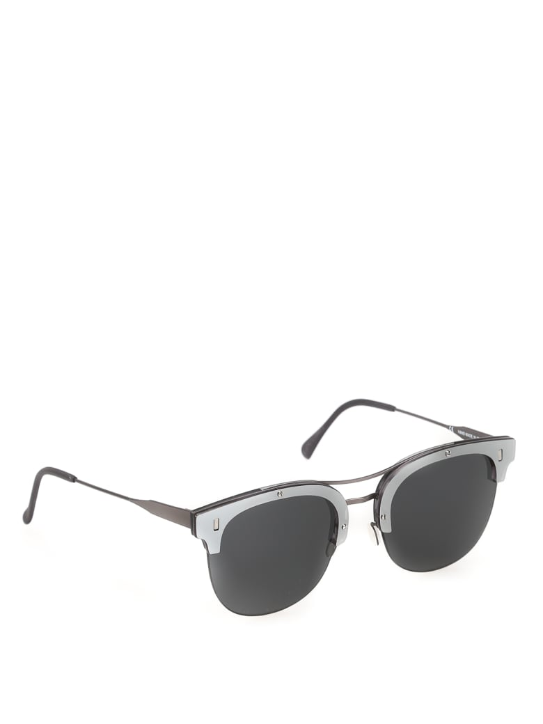 RETROSUPERFUTURE STRADA J28 Sunglasses - Black