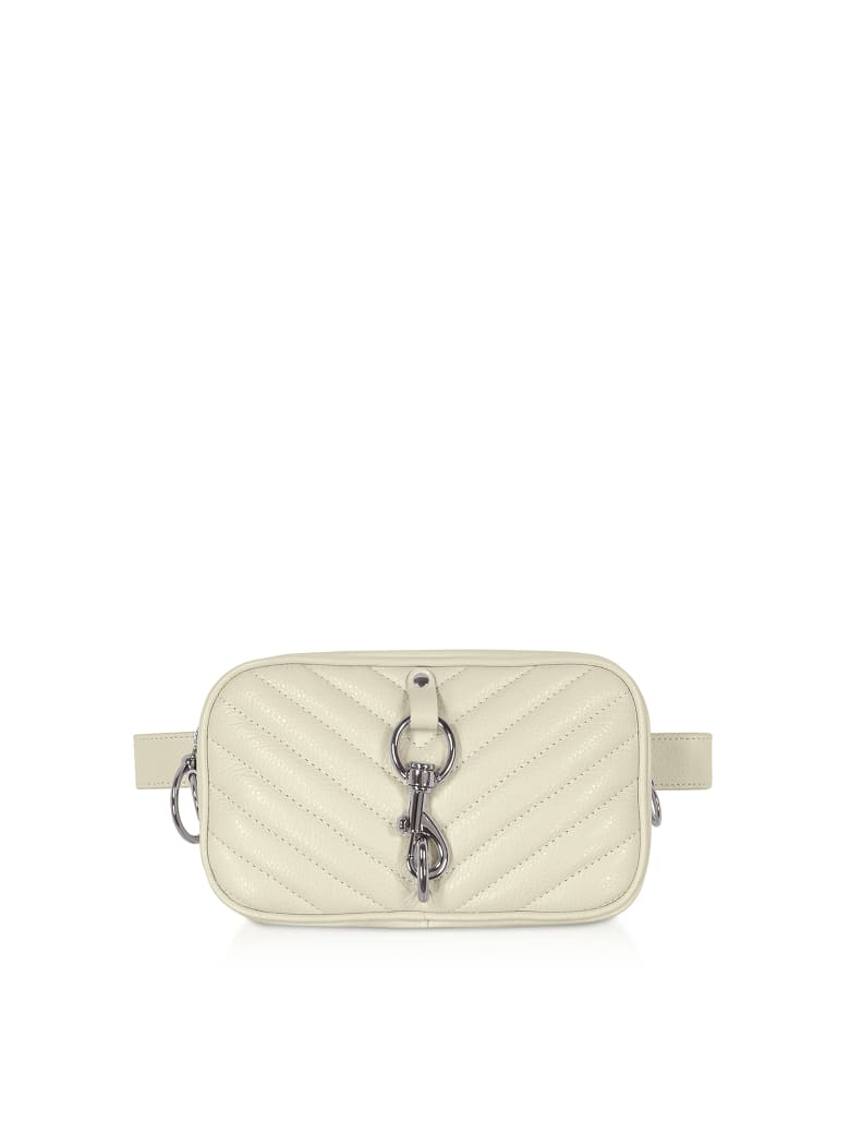 Rebecca Minkoff Pebbled Leather Camera Belt Bag - Clay