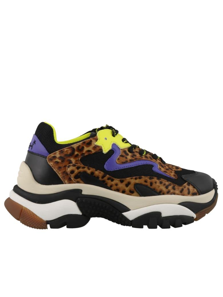 Ash Addict Sneakers - Blk-tan/blk