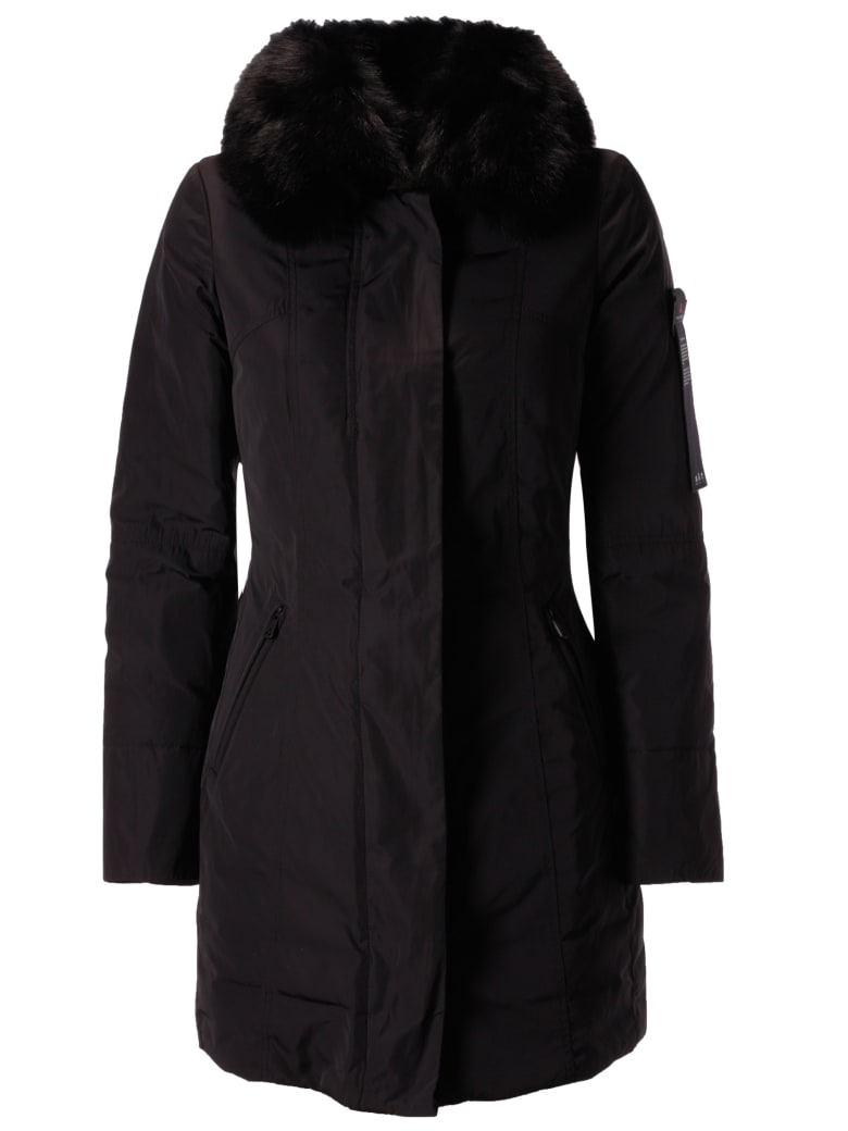 sports shoes 26a8b cbcb3 Best price on the market at italist | Peuterey Peuterey Metropolitan Sa 01  Fur Jacket