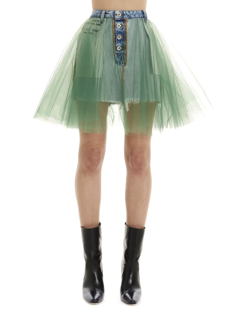 Ben Taverniti Unravel Project Skirt - Green