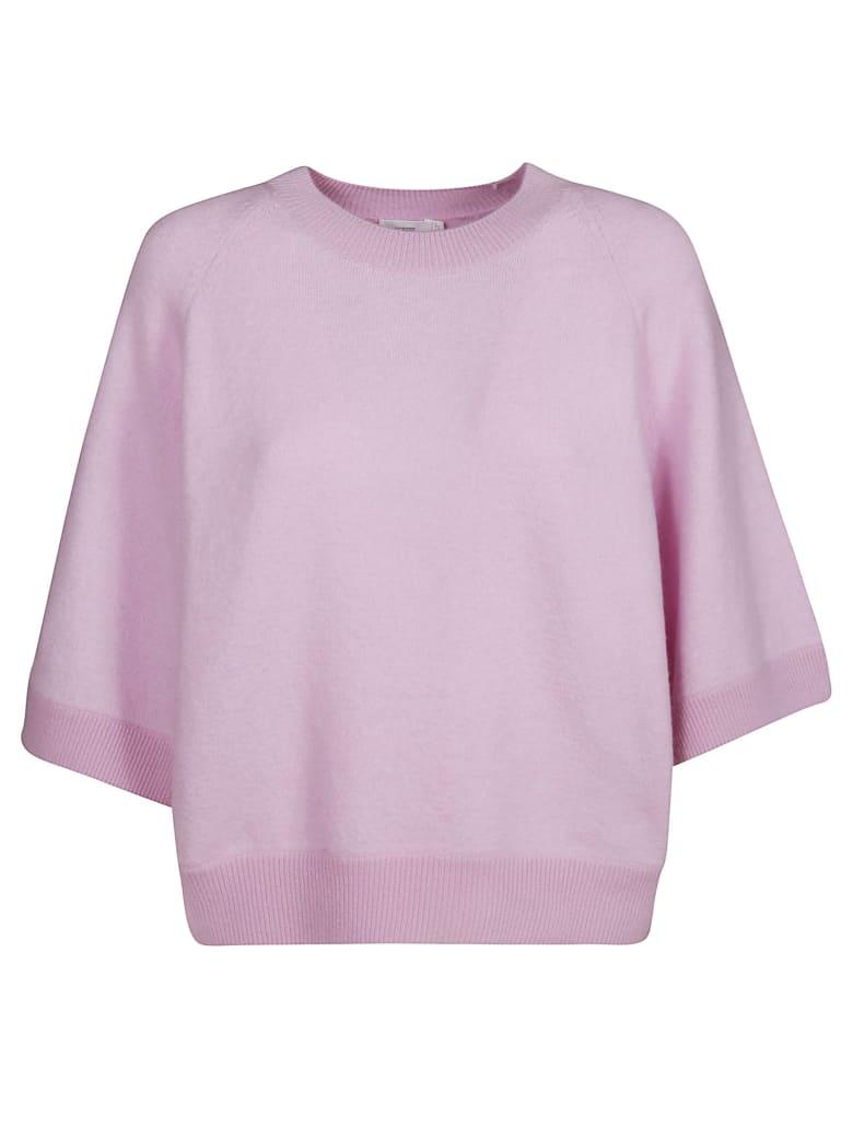 Closed 3/4 Sleeve Sweater - Pink Blush