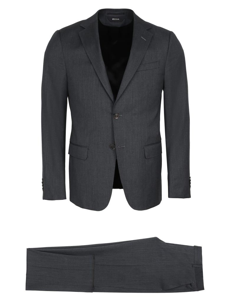 Z Zegna Two-piece Wool Suit - grey
