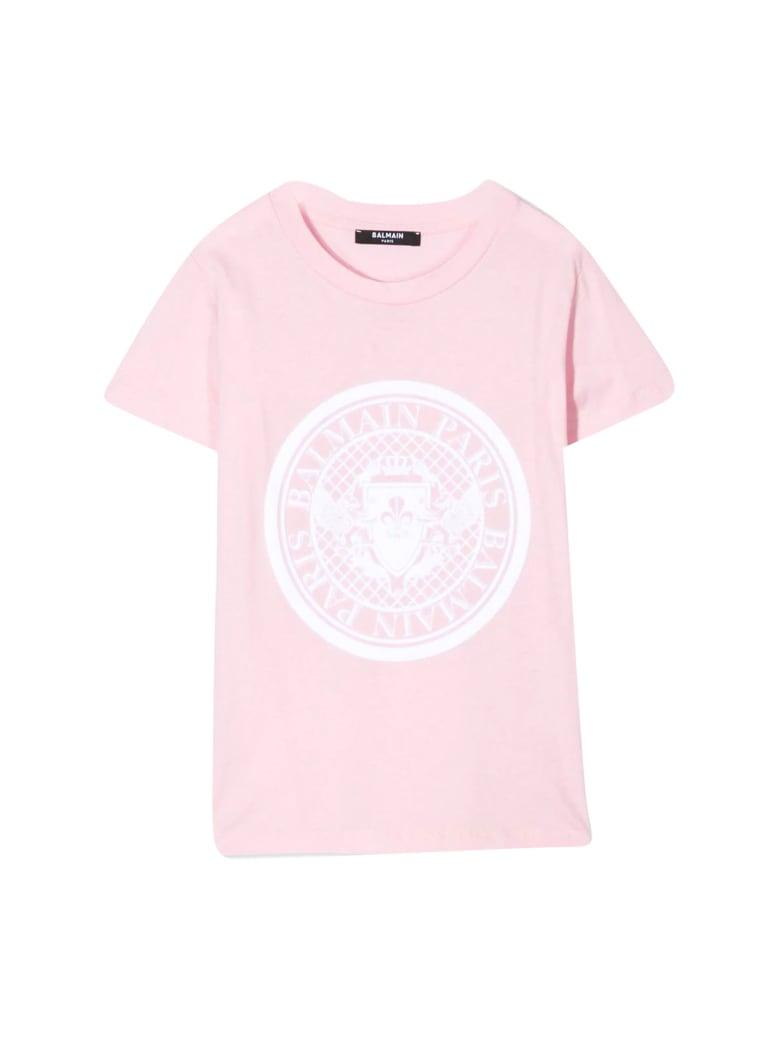 Balmain Kids Printed T-shirt