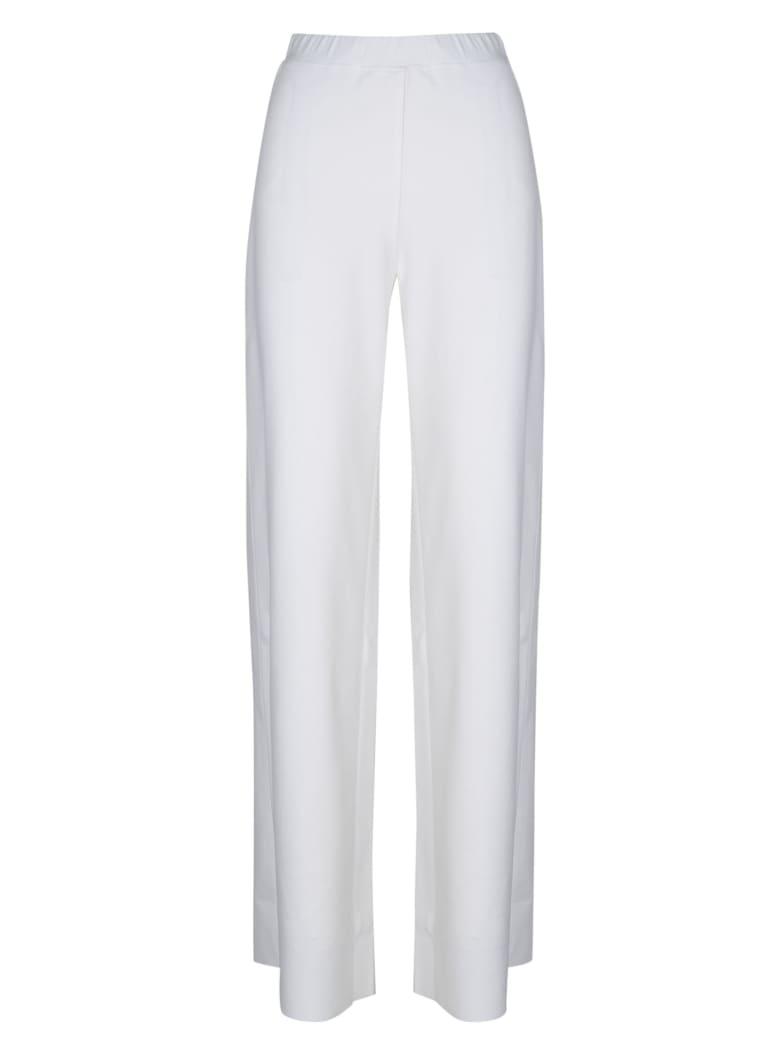 PierAntonioGaspari Stretch Wide Leg Pants - White