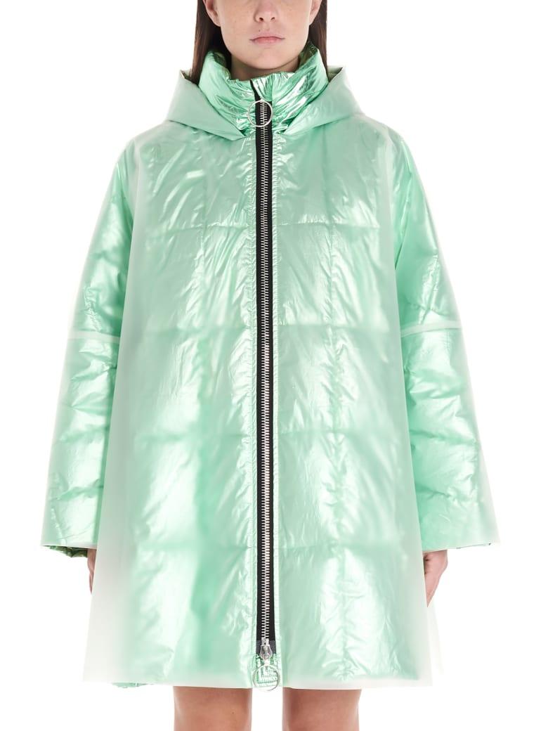 IENKI IENKI 'shiney Nylon' Jacket - Green