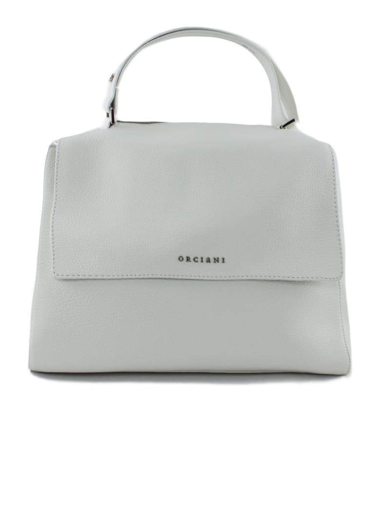 Orciani White Leather Sveva Bag - Bianco