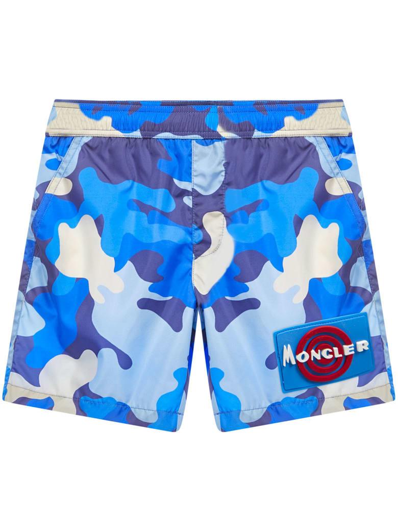 Moncler Enfant Swimsuit - Blue