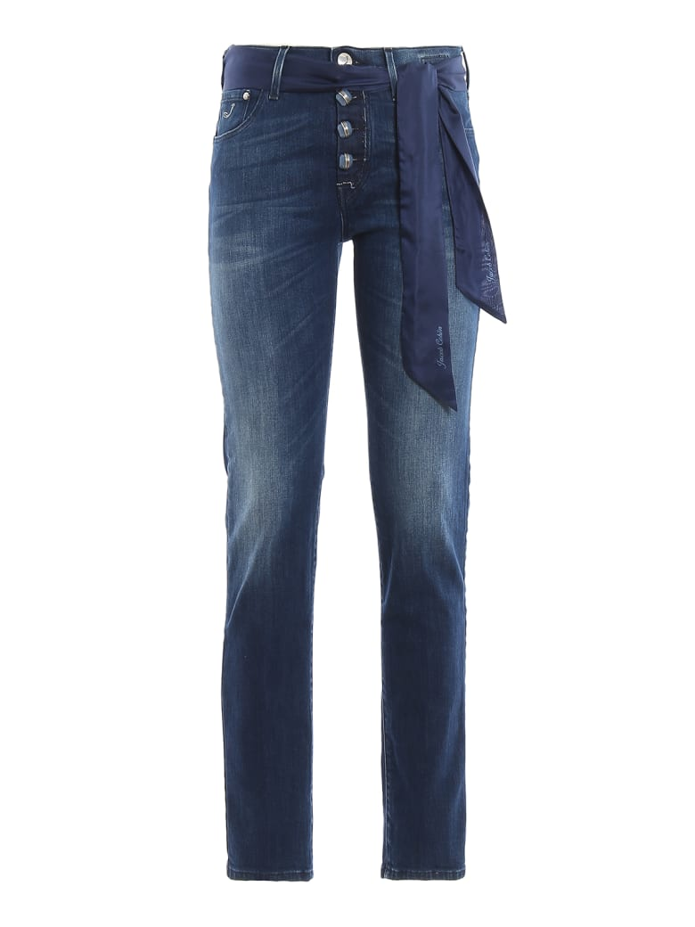 Jacob Cohen Trousers - Denim