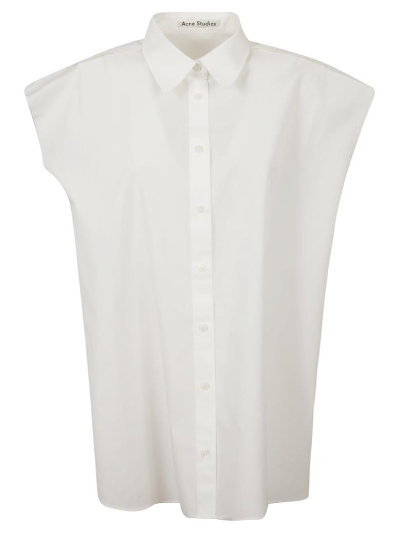Acne Studios Sleeveless Shirt - White