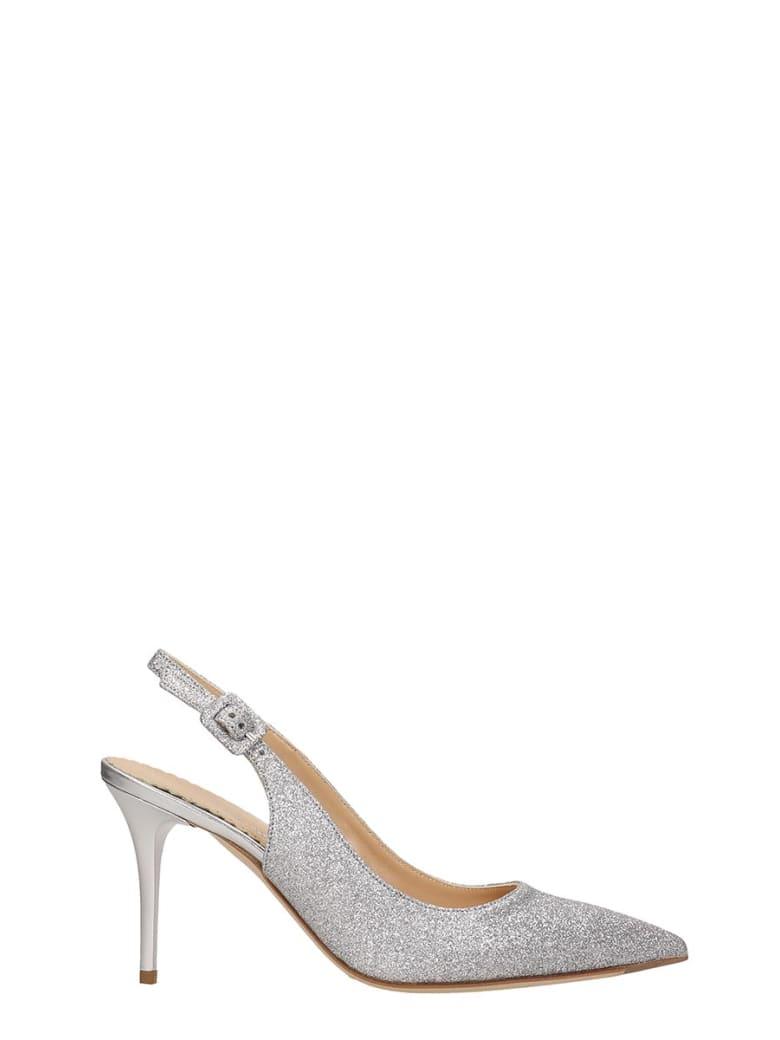 The Seller Silver Glitter Chanel - silver