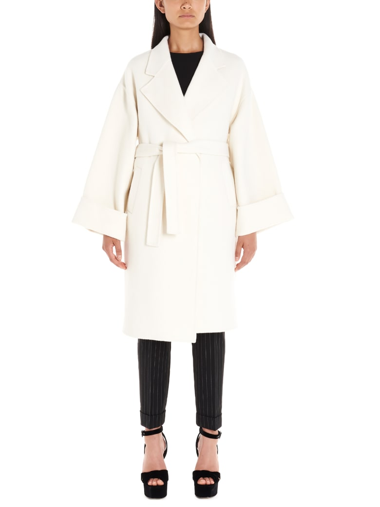 Parosh Coat - White