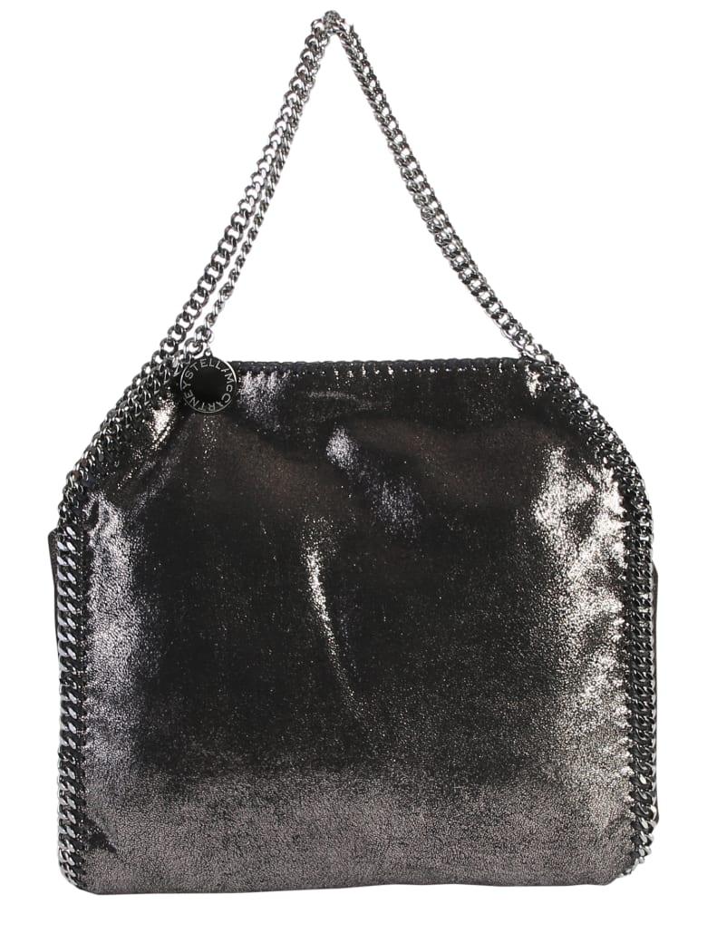 Stella McCartney Black Falabella Double Chain Bag - Black