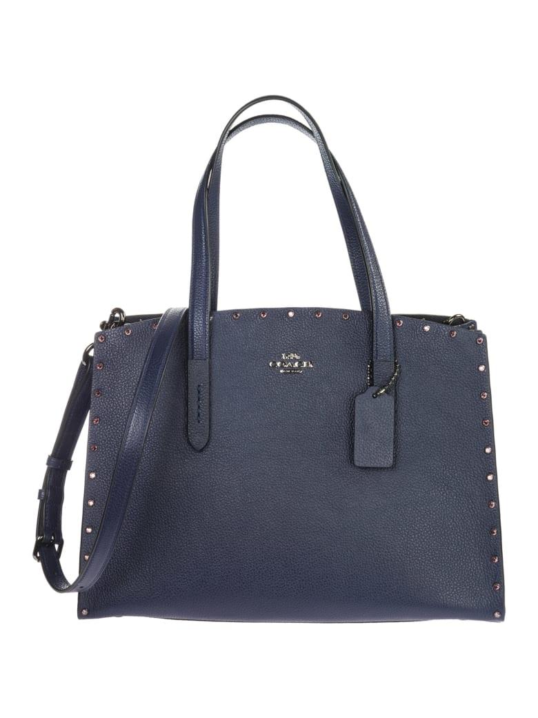 Coach Charlie Handbags - Blu