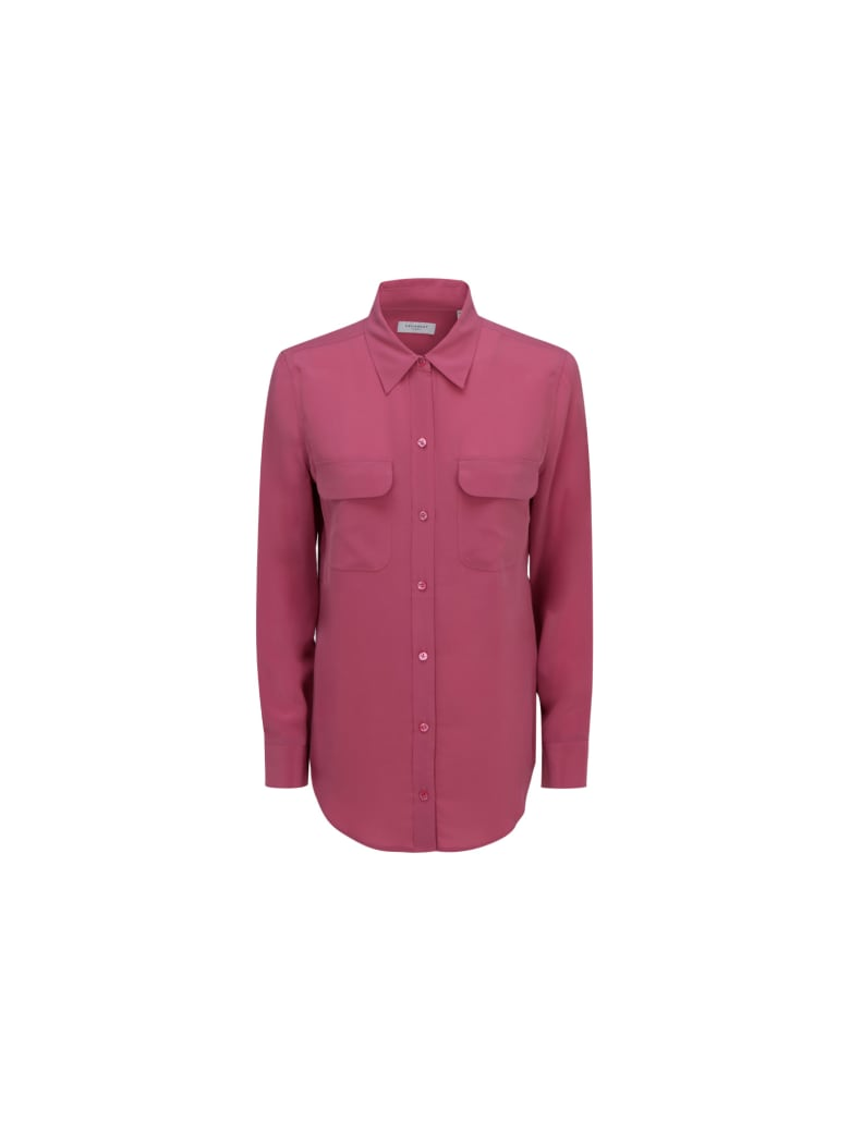 Equipment Shirt - Red violet