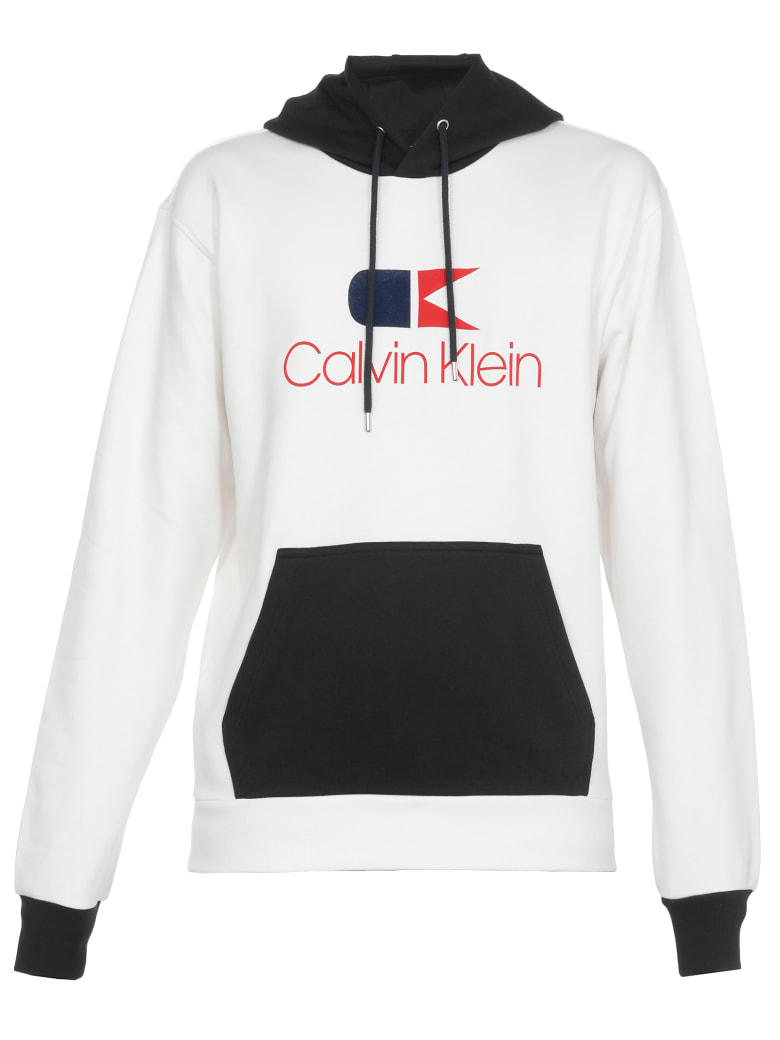 Calvin Klein Cotton Sweatshirt - CALVIN NAVY