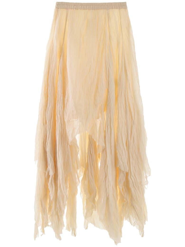 Mes Demoiselles Verstile Asymmetrical Skirt - IVORY (Beige)