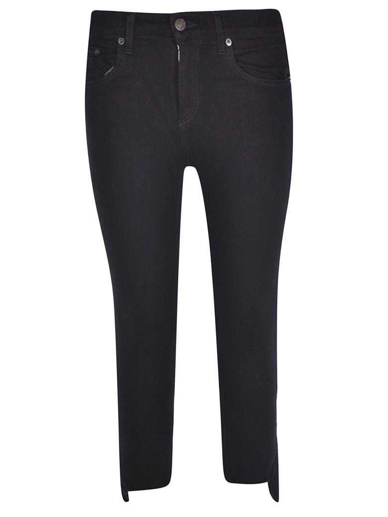 Rag & Bone Stretch Cropped Skinny Jeans - Black