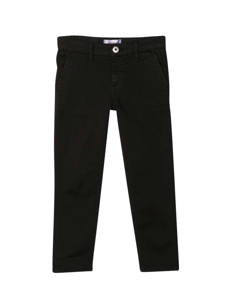 Dondup Black Trousers - Unica