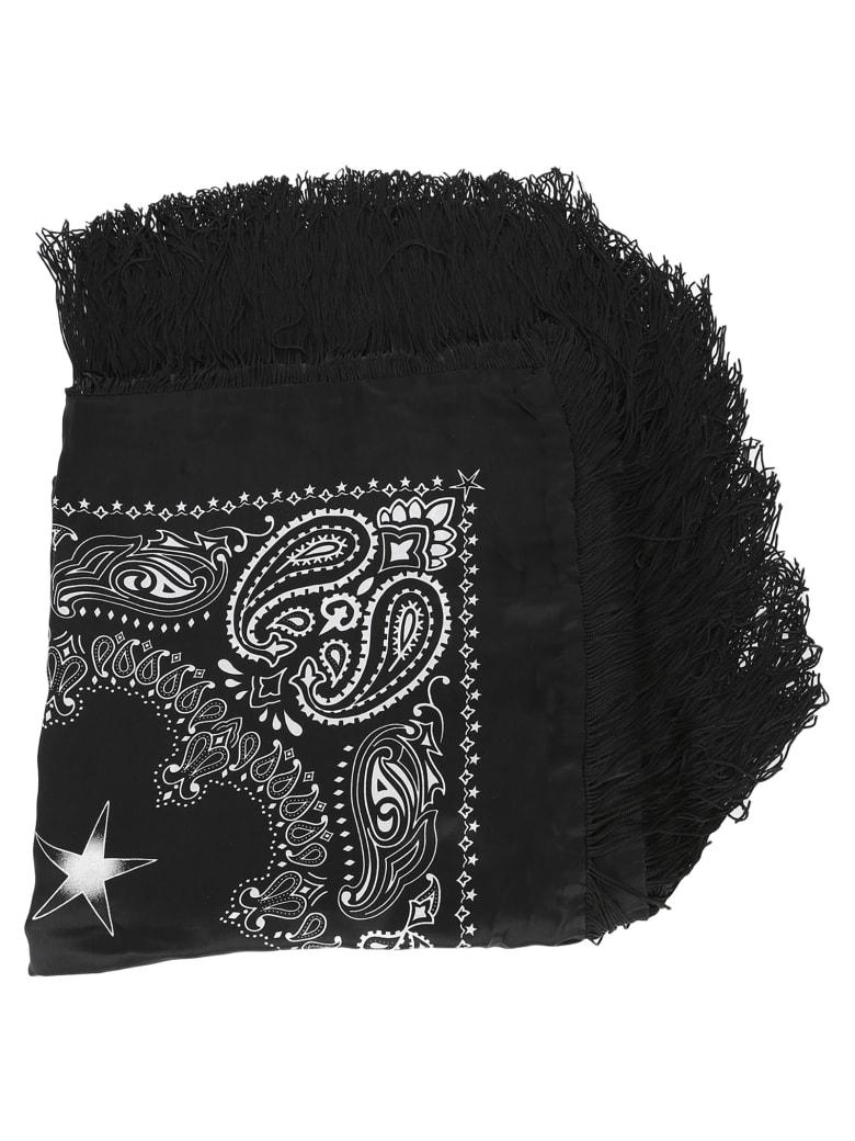 AMIRI Paisley Print Scarf - BLACK BANDANA