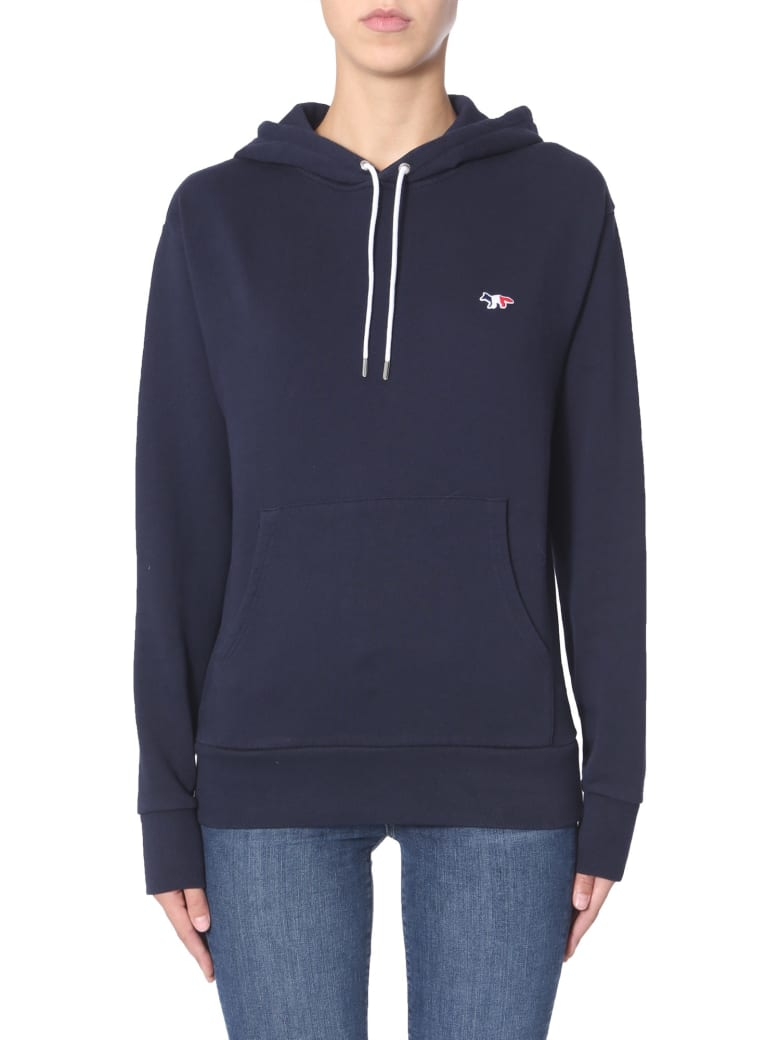 Maison Kitsuné Hooded Sweatshirt - BLU