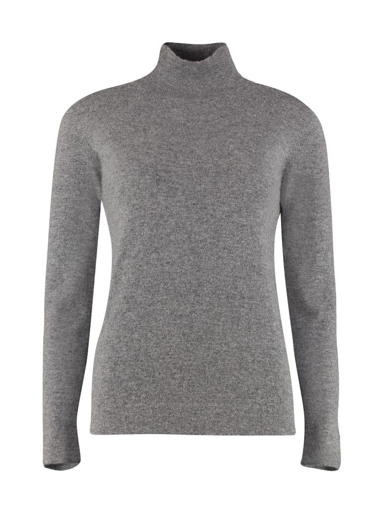 Agnona Cashmere Turtleneck Sweater - grey
