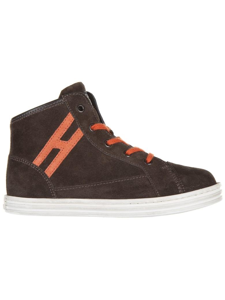Hogan Rebel R141 High-top Sneakers - Marrone