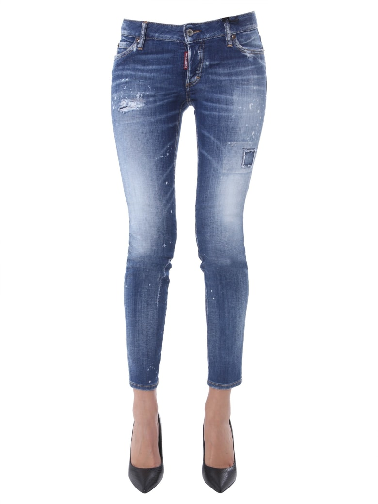 Dsquared2 Medium Scar Jennifer Jeans - Denim