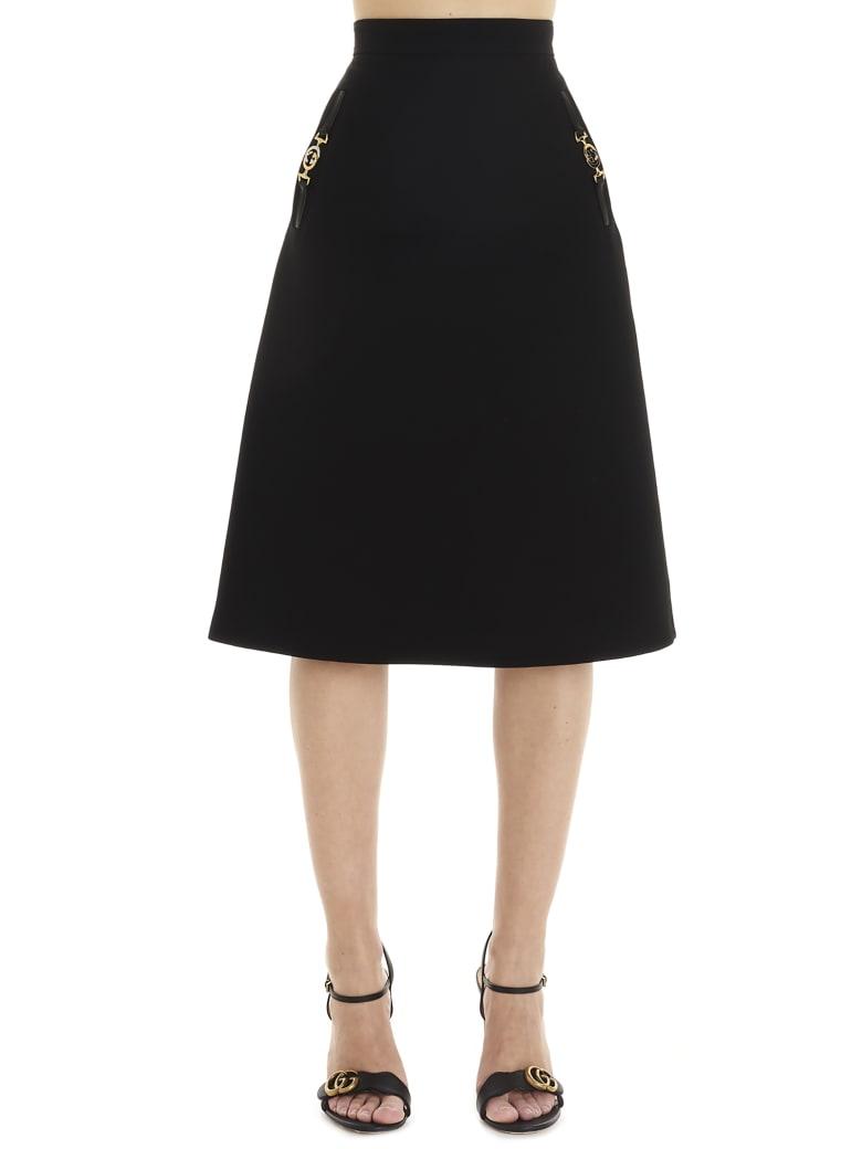Gucci Zumi' Skirt - Black