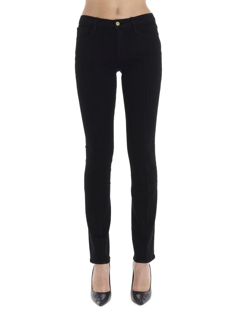 Frame 'le Mini Boot' Jeans - Black