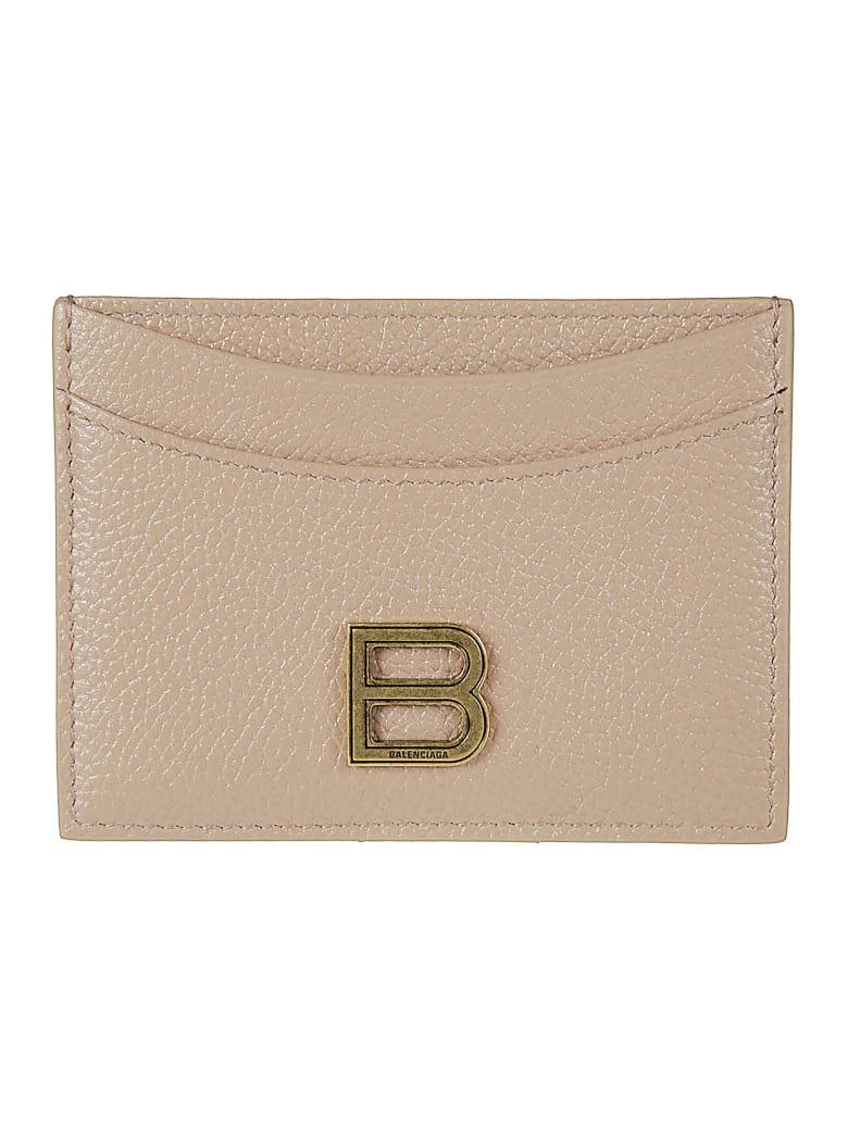 Balenciaga Hourg Card Holder - Beige