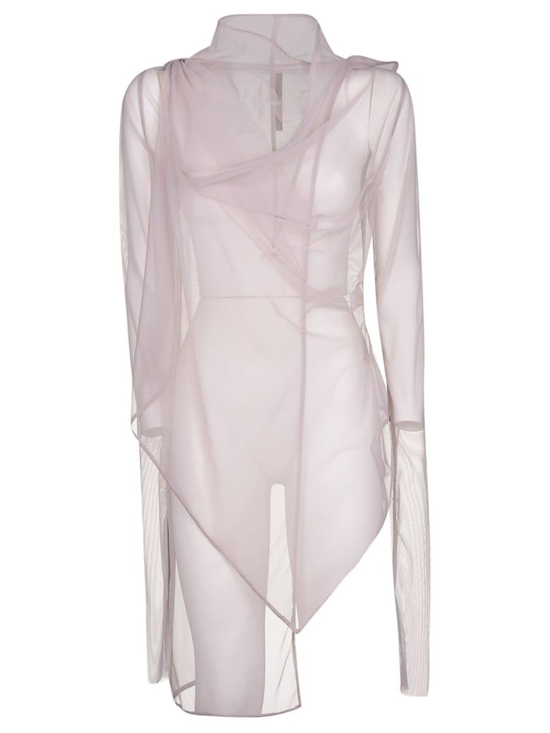 Rick Owens Lilies Sheer Jacket - Pearl