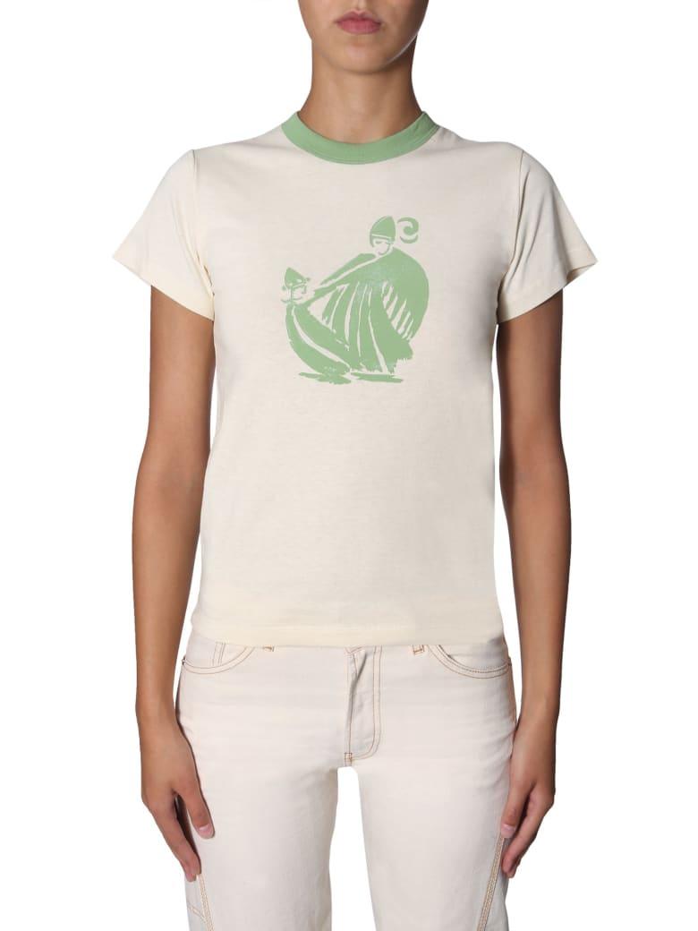 Lanvin Round Neck T-shirt - CIPRIA