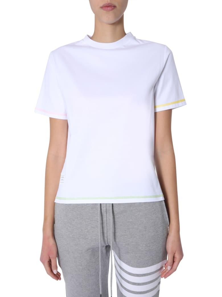 Thom Browne Round-neck T-shirt - White