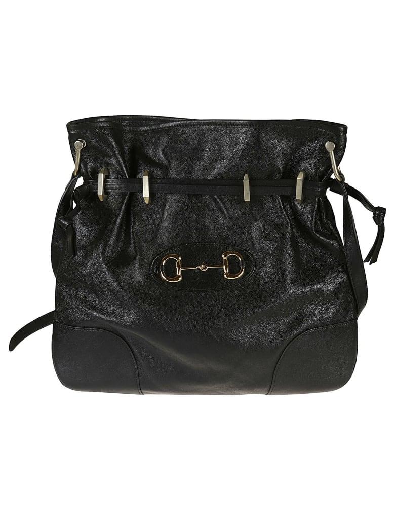 Gucci 1955 Horsebit Messenger Bag - Black