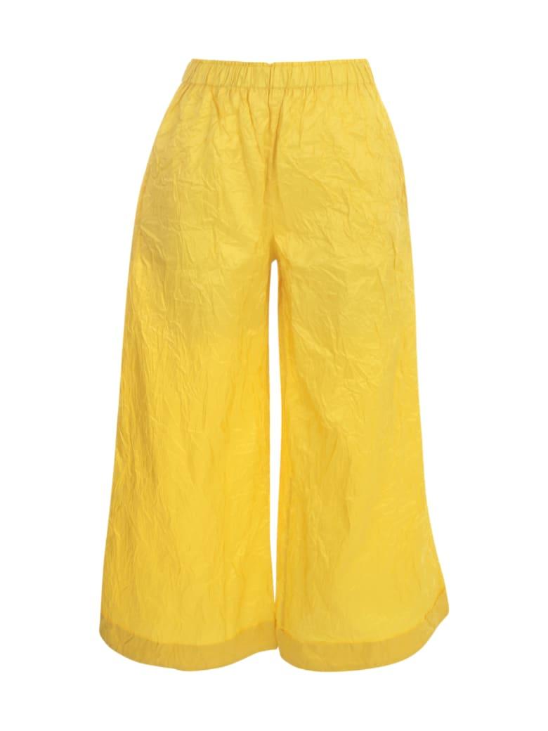 Daniela Gregis Silk Pants - Yellow