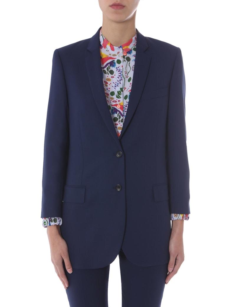 Paul Smith Oversize Fit Blazer - Blu
