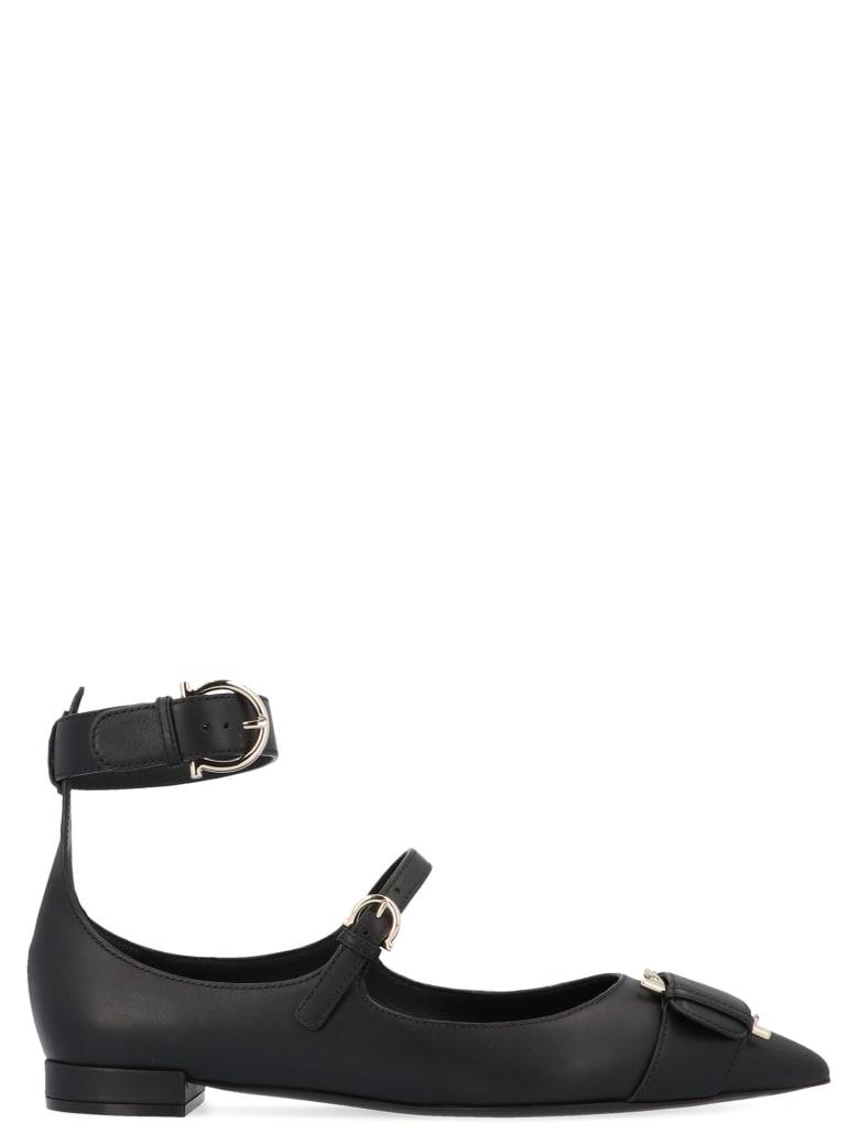 Salvatore Ferragamo 'raveo' Shoes - Black