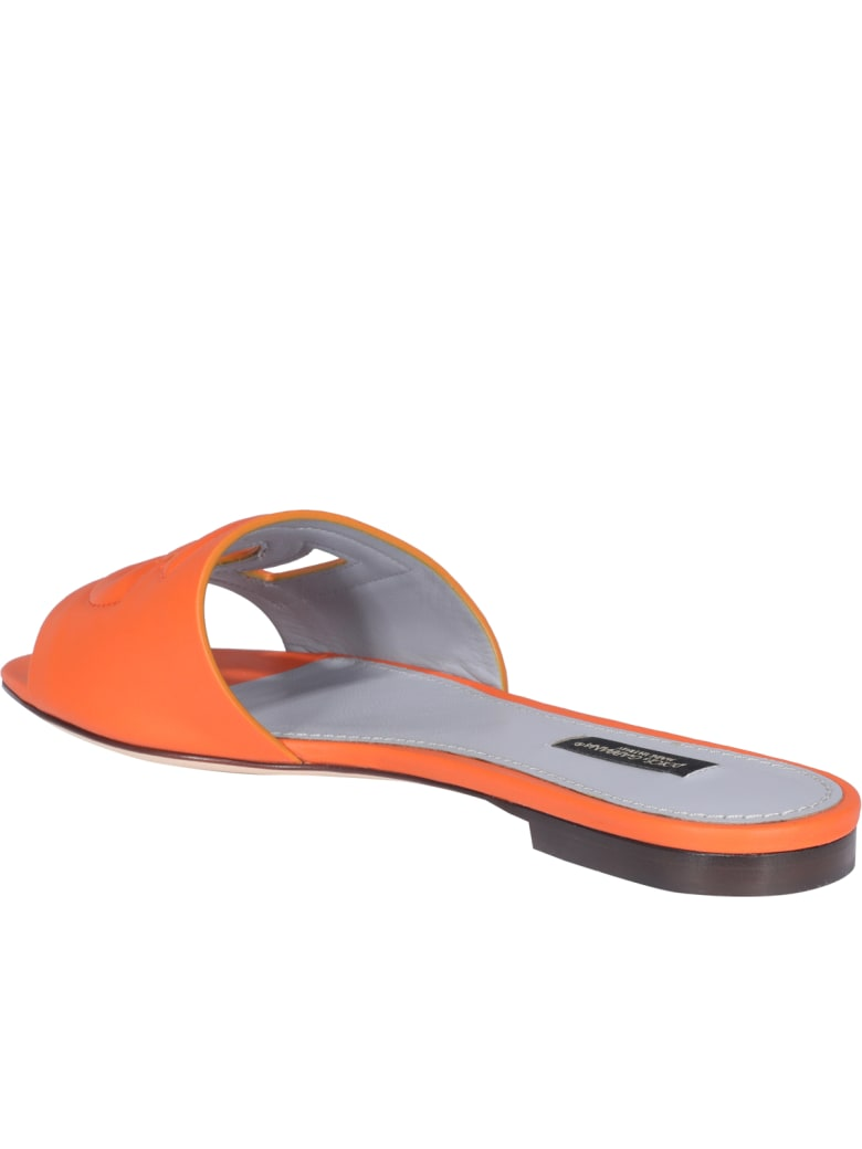 Dolce & Gabbana Tahiti Sandals - Arancione