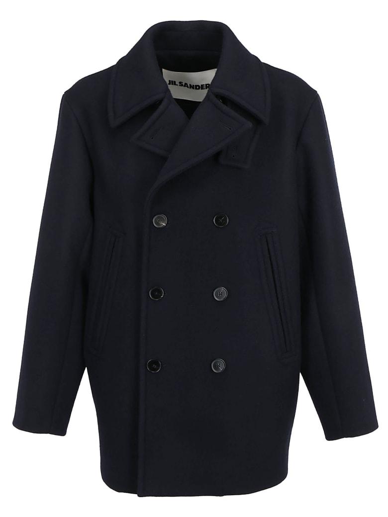 Jil Sander Coat - Dark blue