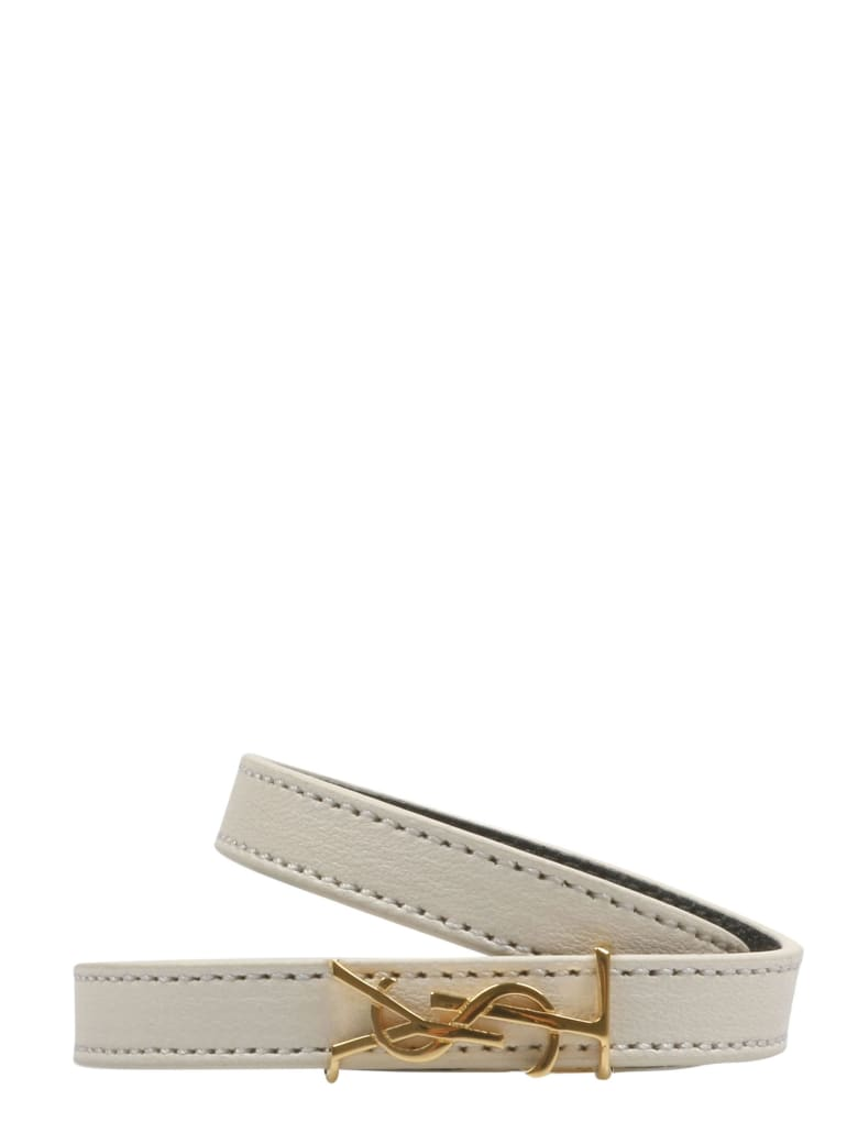 Saint Laurent Bracelet - White