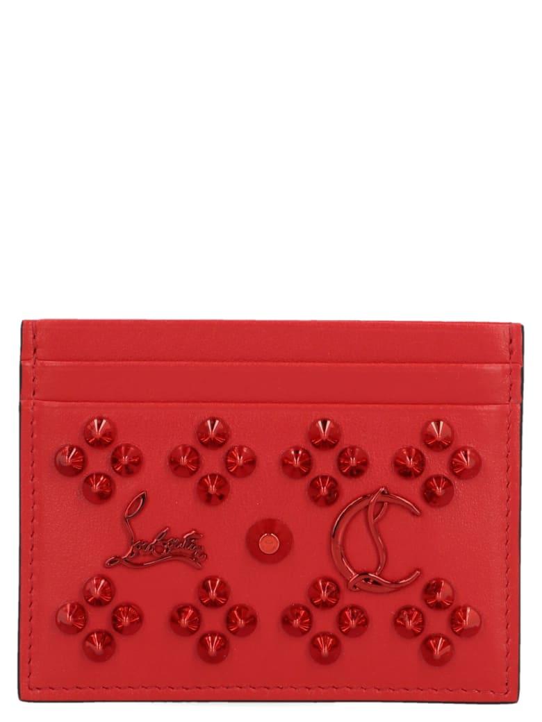 Christian Louboutin 'kios' Wallet - Red