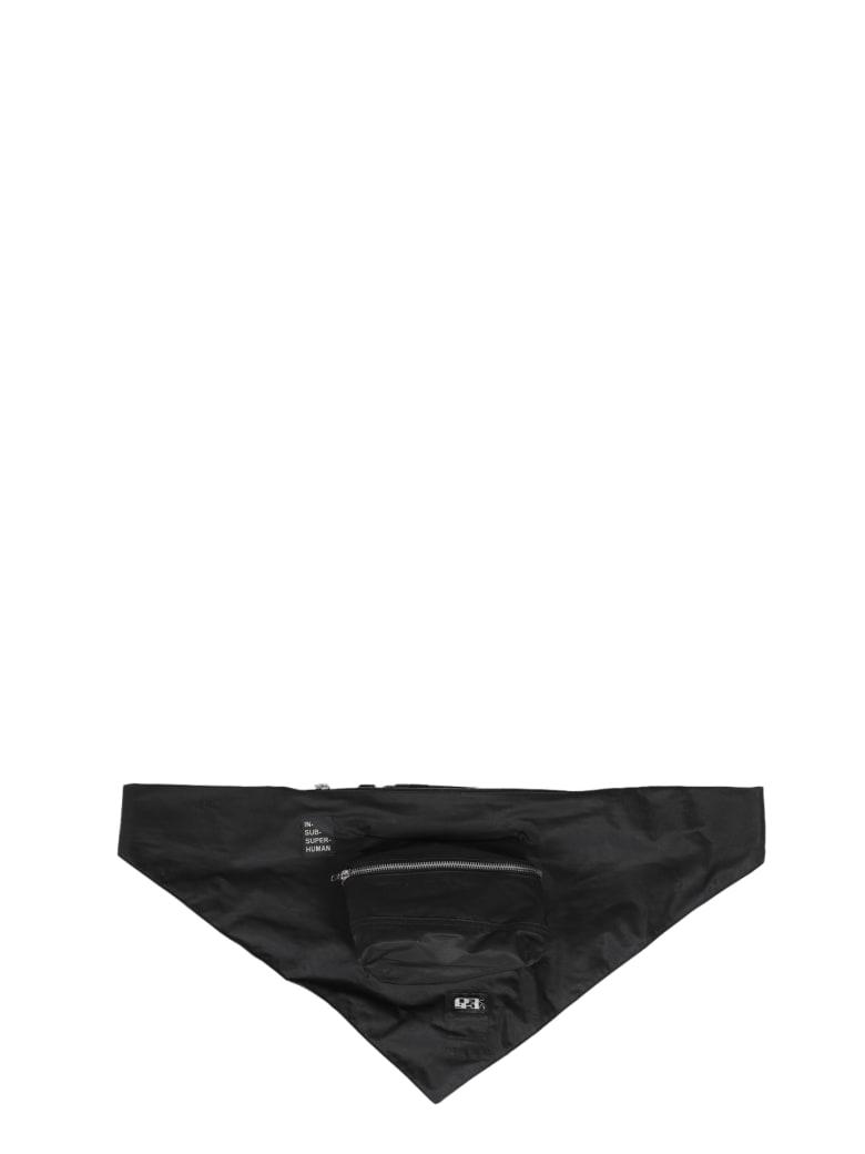 DRKSHDW Bandana Cross Body Pouch - Nero