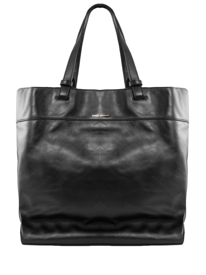 Isabel Marant Black Leather Bag - Nero