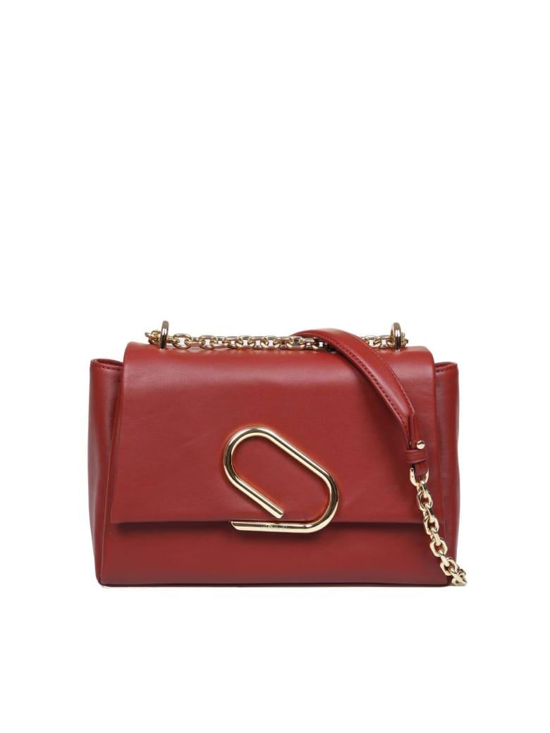 3.1 Phillip Lim Phillip Lim Alix Soft Chain Bag In Bordeaux Leather - Leather