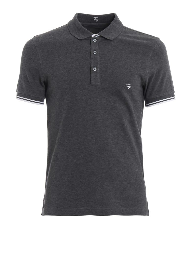 Fay Polo Shirt - Grey
