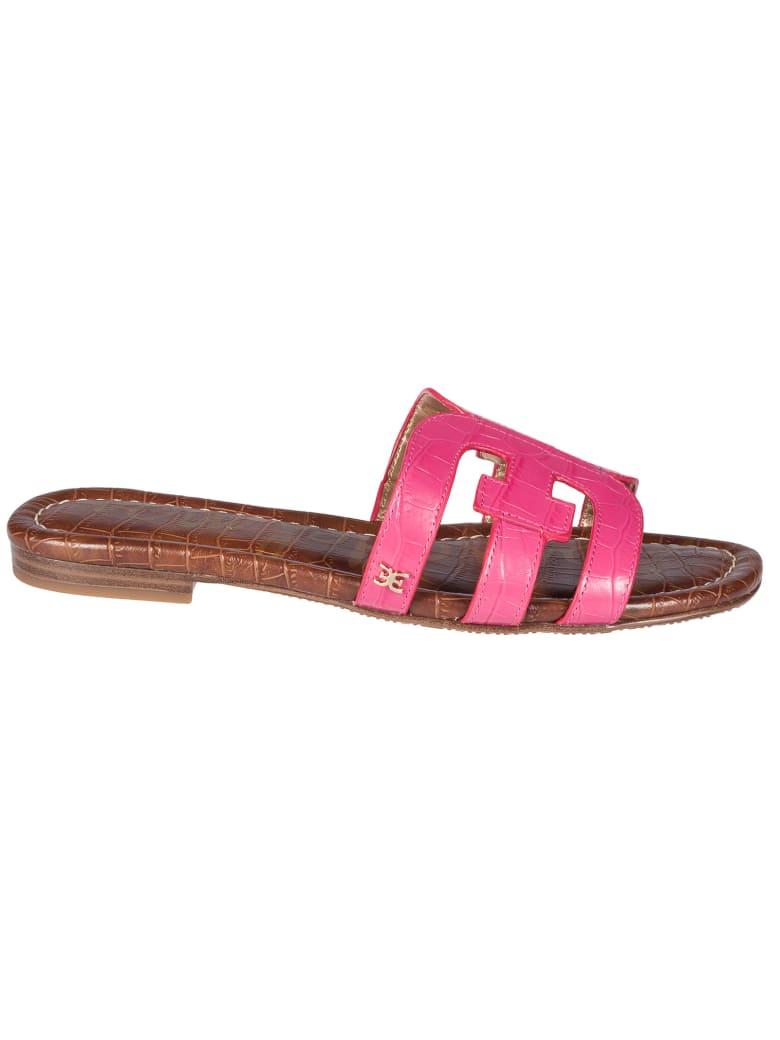 Sam Edelman Bay Double E Sandals - Pink/Brown